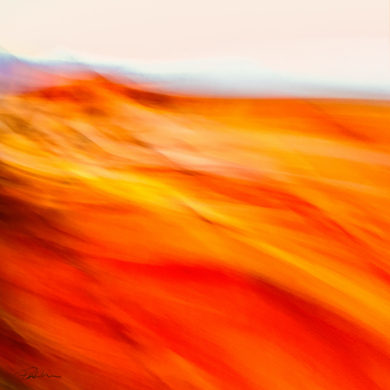 (CreativeWork) 'Across The Desert 2' Ed. 2 of 30 by Bruce Peebles. photograph. Shop online at Bluethumb.