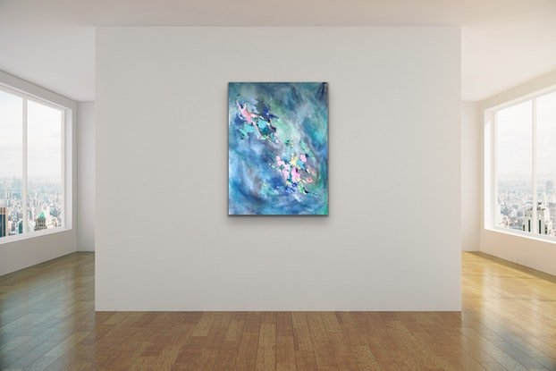 (CreativeWork) Blue Opal by Meredith Howse. #<Filter:0x000055cd7b452678>. Shop online at Bluethumb.