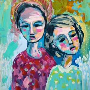 (CreativeWork) Unconditional by Clair Bremner. acrylic-painting. Shop online at Bluethumb.