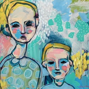 (CreativeWork) Siblings by Clair Bremner. #<Filter:0x00007fbcb3414908>. Shop online at Bluethumb.