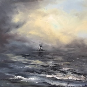 (CreativeWork) Transcend by Victoria Easby. oil-painting. Shop online at Bluethumb.