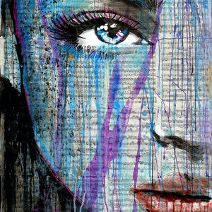 (CreativeWork) OPACITY by loui jover. Drawings. Shop online at Bluethumb.