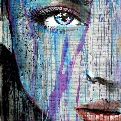(CreativeWork) OPACITY by loui jover. drawing. Shop online at Bluethumb.