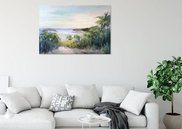 (CreativeWork) Hamilton Island by Liliana Gigovic. #<Filter:0x0000556b301681b8>. Shop online at Bluethumb.