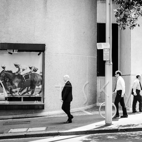 (CreativeWork) Rat Race Ed. 4 of 5 by Natsky .. Photograph. Shop online at Bluethumb.