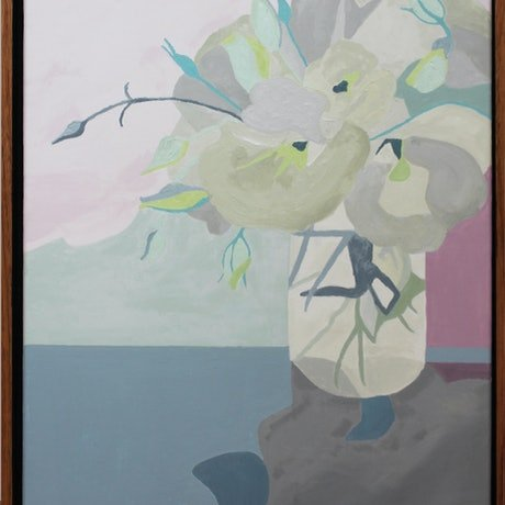 (CreativeWork) Still Life II by Anna Webster. Oil Paint. Shop online at Bluethumb.