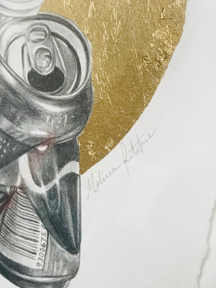 (CreativeWork) Curiosity of the Discarded by Melissa Ritchie. Drawings. Shop online at Bluethumb.