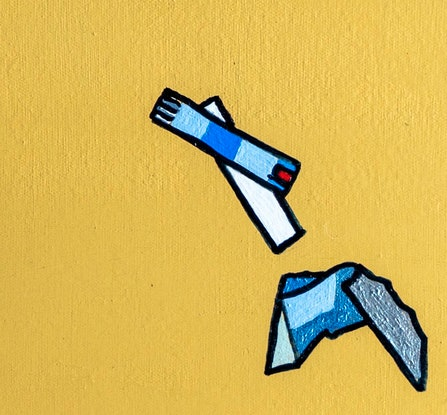 (CreativeWork) Multiple Daily Injections by Steve Munro. Mixed Media. Shop online at Bluethumb.