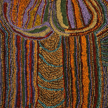 (CreativeWork) Walu #18-134 by Maime Butler. Acrylic Paint. Shop online at Bluethumb.