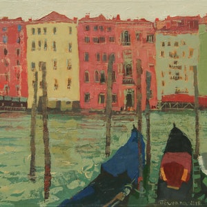 (CreativeWork) Grand Canal, Venice by Tetyana Khytko. #<Filter:0x00007fe750c596a0>. Shop online at Bluethumb.