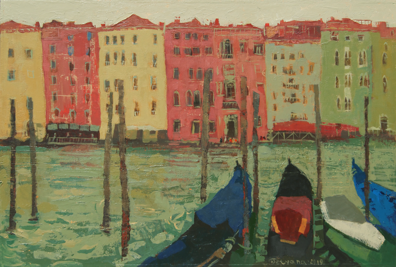 (CreativeWork) Grand Canal, Venice by Tetyana Khytko. #<Filter:0x0000560970b5fd40>. Shop online at Bluethumb.