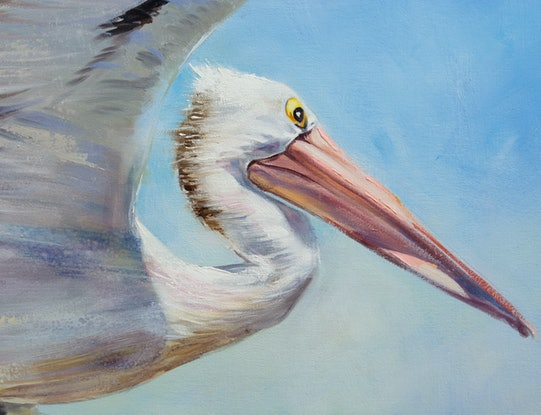 (CreativeWork) Percy by Paul Whitehead. Oil Paint. Shop online at Bluethumb.