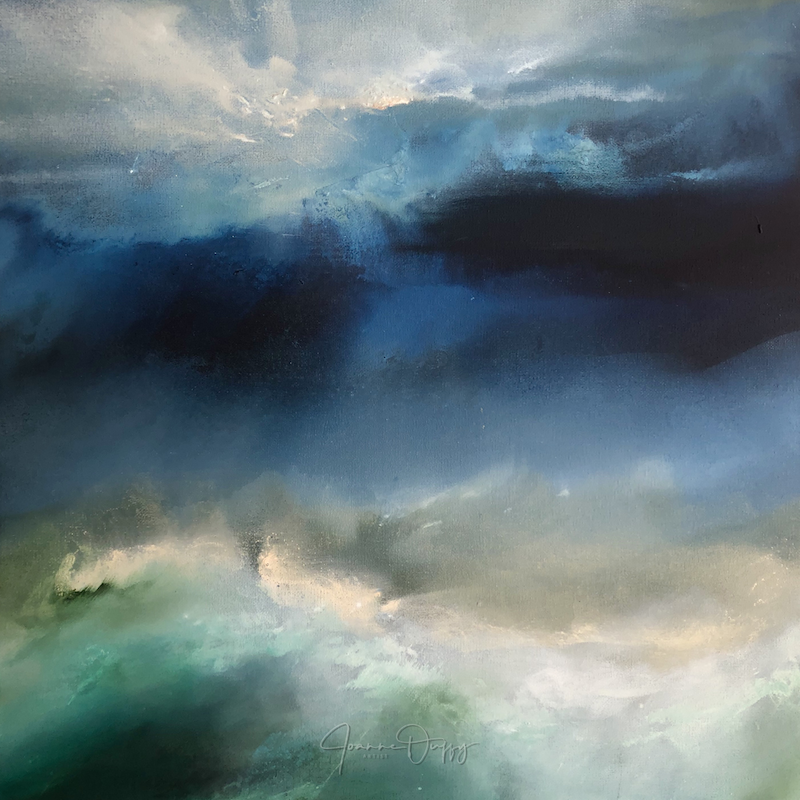 (CreativeWork) Water Dance by Joanne Duffy. Oil Paint. Shop online at Bluethumb.