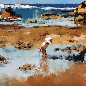 (CreativeWork) Rockpool Treasures II - Limited Edition Giclee Art Print     Ed. 2 of 100 by Claire McCall. #<Filter:0x00007ff7ce2695d0>. Shop online at Bluethumb.