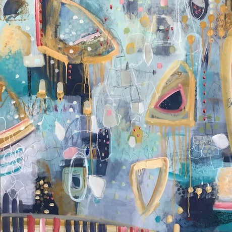 (CreativeWork) It Happened Like This by Ann Neagle. Mixed Media. Shop online at Bluethumb.