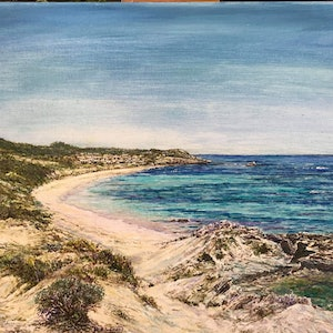 (CreativeWork) Rottnest Splendour by Henry Wood. #<Filter:0x000055fa3e5bab38>. Shop online at Bluethumb.
