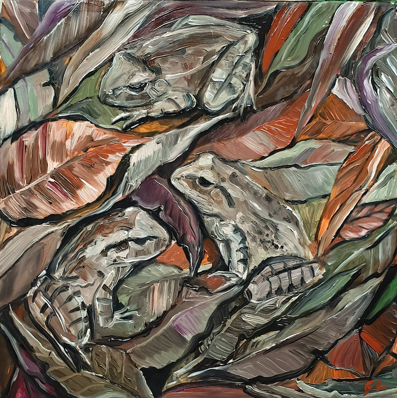 (CreativeWork) Nature More  by Liz H Lovell. Oil Paint. Shop online at Bluethumb.
