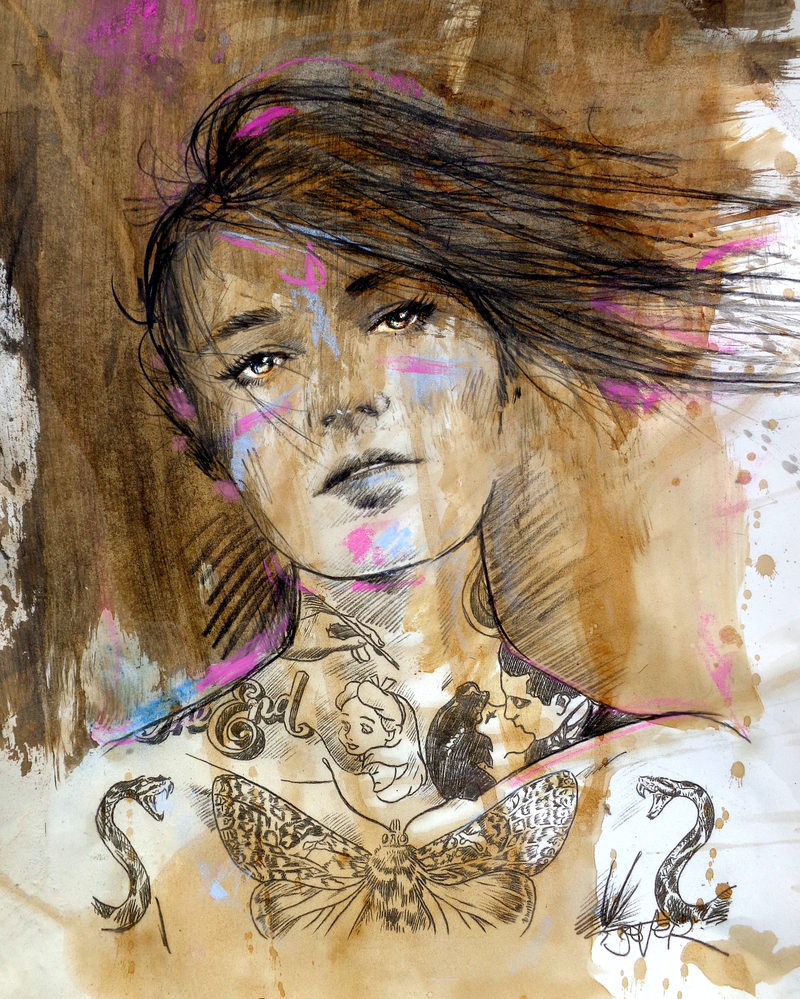 (CreativeWork) RENDERED by loui jover. Drawings. Shop online at Bluethumb.
