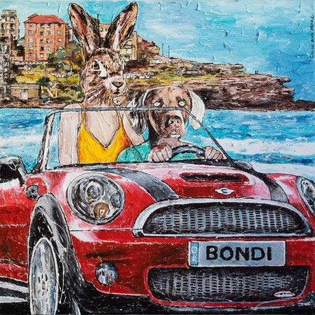 (CreativeWork) They always said there was something about Bondi that could not be put into words by Gillie and Marc Schattner. Print. Shop online at Bluethumb.