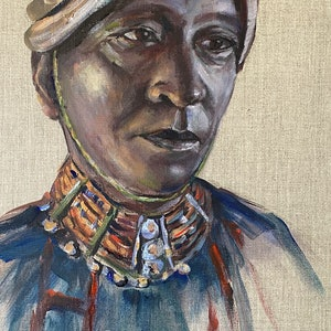 (CreativeWork) THE KING by Ivana Pinaffo. Acrylic Paint. Shop online at Bluethumb.