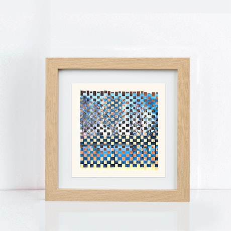 (CreativeWork) Billabong weave by Jennifer Bell. Mixed Media. Shop online at Bluethumb.