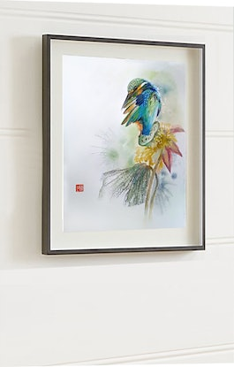 (CreativeWork) After Rain by Doudou Huang. Watercolour Paint. Shop online at Bluethumb.