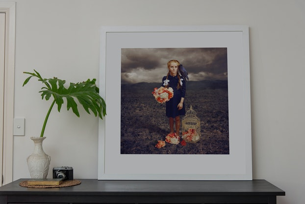 (CreativeWork) Dancing with Costica - Corvo Framed *DISCOUNTED* Ed. 3 of 20 by Jane Long. Photograph. Shop online at Bluethumb.