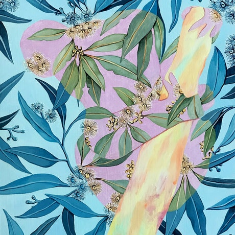 (CreativeWork) In the Leaves by Ingrid Bartkowiak. Oil Paint. Shop online at Bluethumb.
