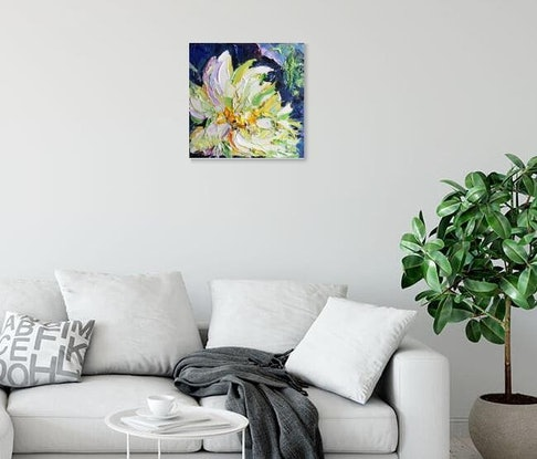 (CreativeWork) Believe  by Liliana Gigovic. Oil Paint. Shop online at Bluethumb.
