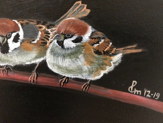 (CreativeWork) FLY BABY FLY - VI by Priya Gore. Acrylic Paint. Shop online at Bluethumb.