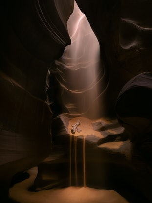 (CreativeWork) Sandfall Ed. 11 of 100 by Nick Psomiadis. Photograph. Shop online at Bluethumb.