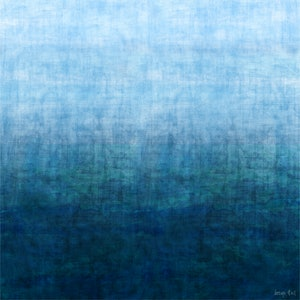 (CreativeWork) GRADUAL SEASCAPE - Mixed Media on canvas 127cm Square by George Hall. #<Filter:0x00007f7cb4948418>. Shop online at Bluethumb.