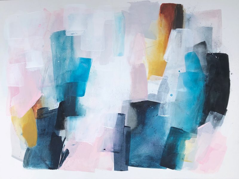 (CreativeWork) Summer Dance  by Jessie Wheldon. Acrylic Paint. Shop online at Bluethumb.