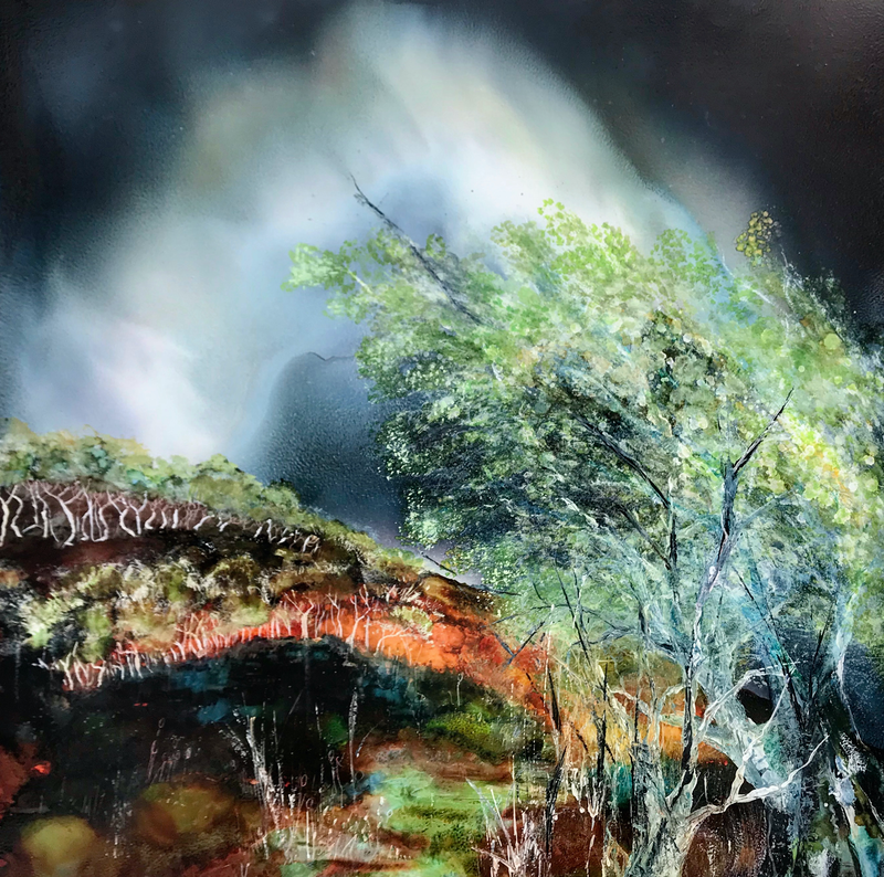 (CreativeWork) Come away by Meg Lewer. Mixed Media. Shop online at Bluethumb.