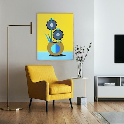 (CreativeWork) Still Life No.45 by Andria Beighton. Acrylic Paint. Shop online at Bluethumb.