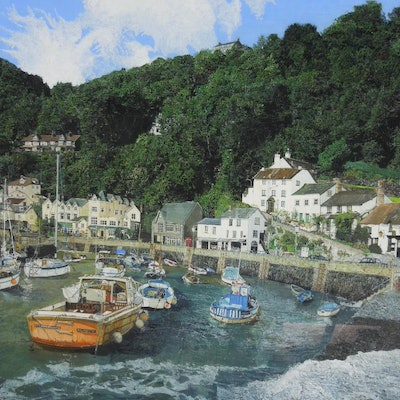 (CreativeWork) LYNMOUTH by BRIAN CARTER. #<Filter:0x000055870e3cde68>. Shop online at Bluethumb.