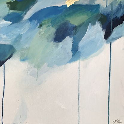 (CreativeWork) A Drop In The Ocean by Marnie McKnight. Acrylic Paint. Shop online at Bluethumb.