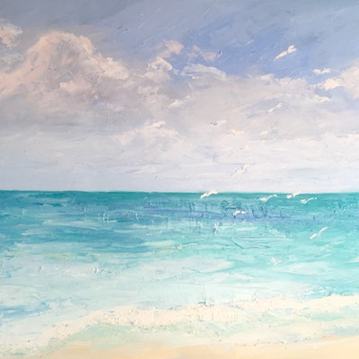 (CreativeWork) Sea Breeze by Meredith Howse. #<Filter:0x00007f0648fa8598>. Shop online at Bluethumb.