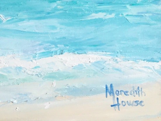 (CreativeWork) Sea Breeze by Meredith Howse. Oil Paint. Shop online at Bluethumb.