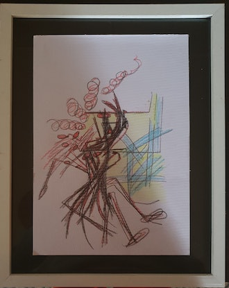 (CreativeWork) Pietra on paper  by PENELOPE WATSON. Drawings. Shop online at Bluethumb.