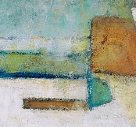 (CreativeWork) 'HARBOUR VIEW' by Wendy Wooden. Acrylic Paint. Shop online at Bluethumb.