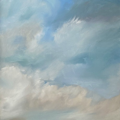 (CreativeWork) Yesterday by Joanne Duffy. Oil Paint. Shop online at Bluethumb.
