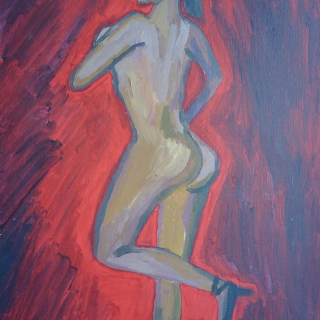 (CreativeWork) MAMSELLE 2 by Paula Reilly. Acrylic Paint. Shop online at Bluethumb.