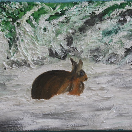 (CreativeWork) Lake Crackenback 6 by Ralph Coles. Oil Paint. Shop online at Bluethumb.
