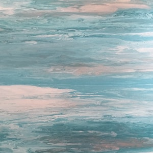 (CreativeWork) Sea Day - unique and original ocean painting on canvas by Debra Ryan. #<Filter:0x00007f7cbc90fb10>. Shop online at Bluethumb.