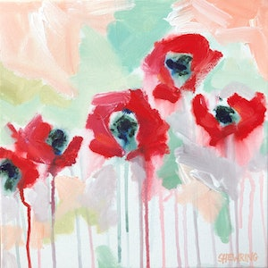 (CreativeWork) Poppy Punch  by Jen Shewring. #<Filter:0x000055a2aa9c7870>. Shop online at Bluethumb.