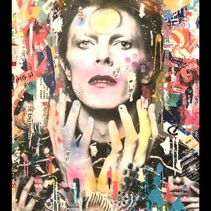 (CreativeWork) Bowie 195 by Cold Ghost. #<Filter:0x00007f7b2c12fee0>. Shop online at Bluethumb.