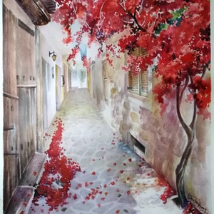 (CreativeWork) WALK WITH YOU by Doudou Huang. #<Filter:0x00007fed78e94720>. Shop online at Bluethumb.