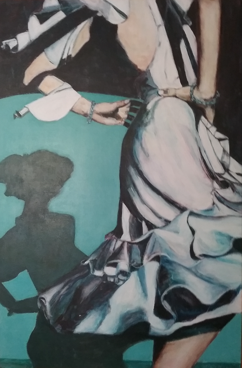 (CreativeWork) After the Ball by Margit Major. Acrylic Paint. Shop online at Bluethumb.