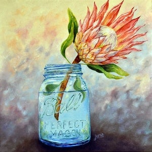 (CreativeWork) Handpicked by Luna Vermeulen. Oil Paint. Shop online at Bluethumb.